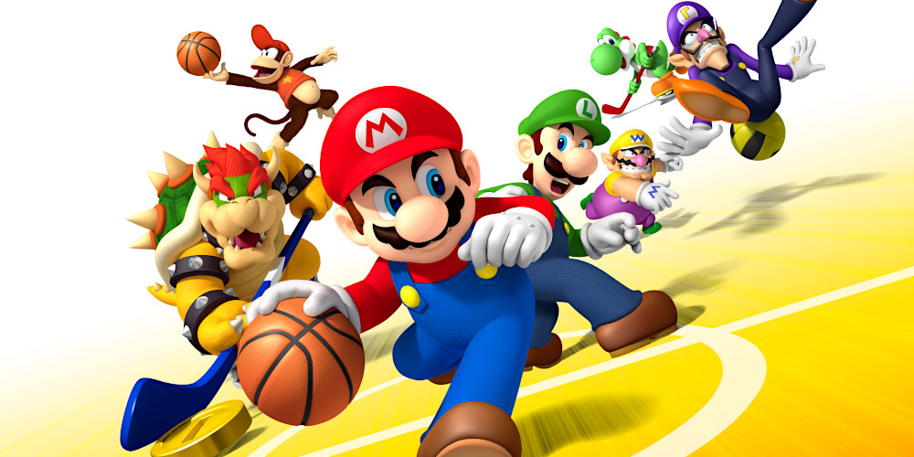 Mario Sports Mix - Keyart
