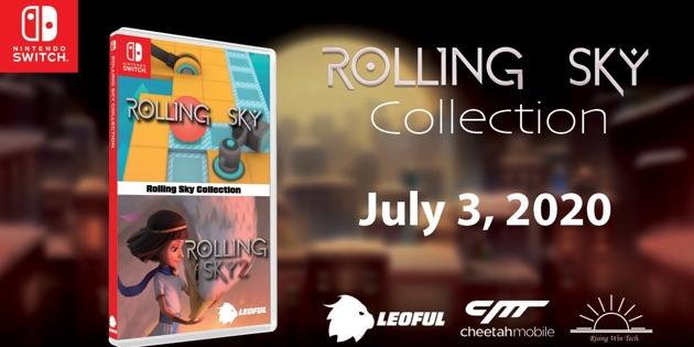 Newsbild zu Physische Veröffentlichung der Rolling Sky Collection auf Anfang Juli verschoben