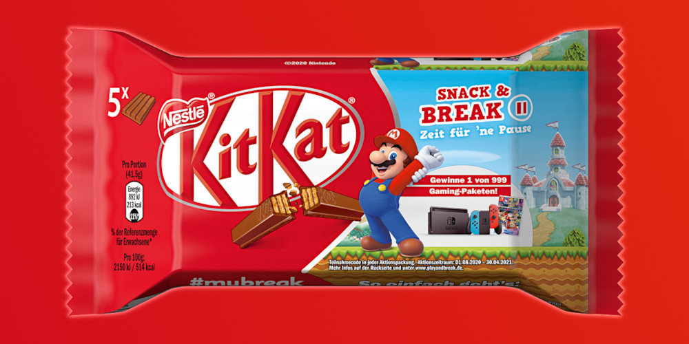 Kitkat - Super Mario-Aktion 2020