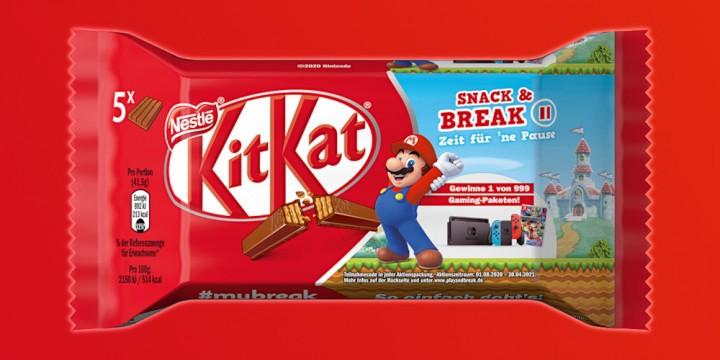 Newsbild zu Nestlé und Nintendo starten süße Kooperation: Gewinnt 1 von 999 Gaming-Paketen