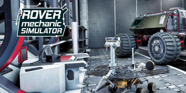 Newsbild zu Schlüpft in die Rolle eines Mars-Rover-Mechanikers: Rover Mechanic Simulator für die Nintendo Switch angekündigt