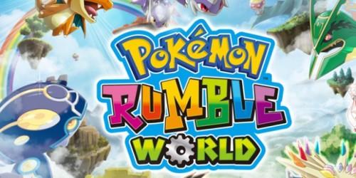 Newsbild zu 3DS-Spieletest: Pokémon Rumble World