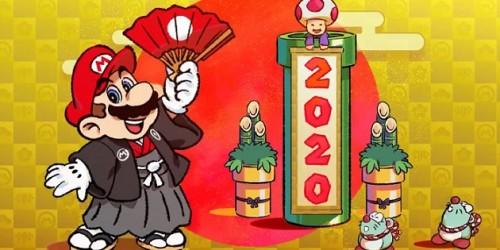 Newsbild zu Nintendo zelebriert die Feiertage mit neuen Artworks beliebter Spieleserien