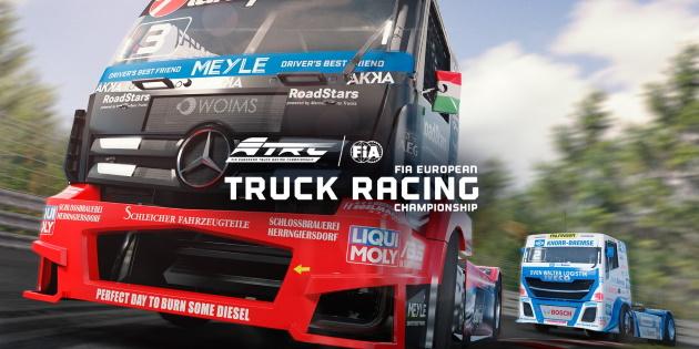 Newsbild zu Nintendo Switch-Spieletest: FIA European Truck Racing Championship