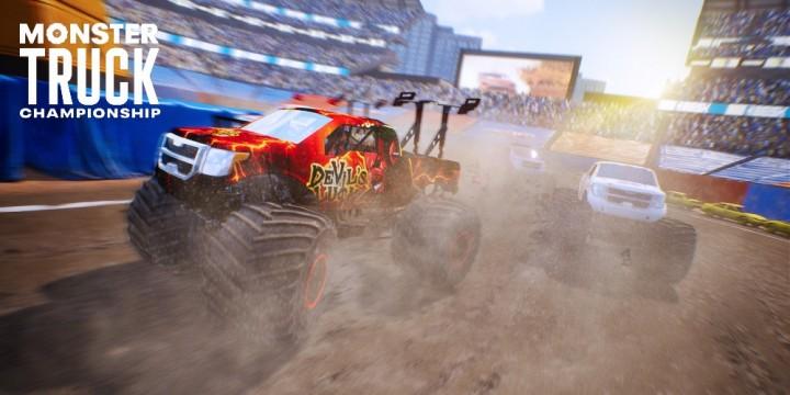 Newsbild zu Monster Truck Championship im Test – Monster Jam für unterwegs!
