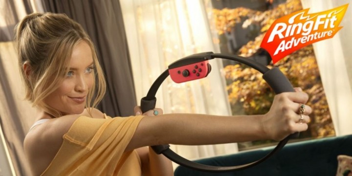Newsbild zu Werbeoffensive im Vereinigten Königreich: Schauspielerin Laura Whitmore wird Botschafterin für Ring Fit Adventure