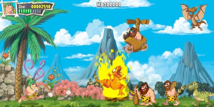 Newsbild zu Joe & Mac: Caveman Ninja – Publisher Microids bringt die kultigen Urzeitbewohner im kommenden Jahr zurück