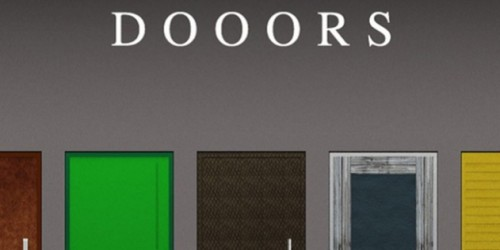 Newsbild zu Video zum Rätselspiel DOOORS veröffentlicht