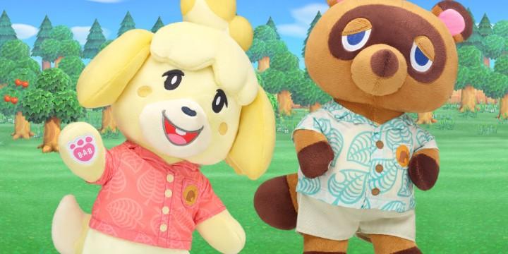 Newsbild zu Knuffig und flauschig, ja, ja! – Build-A-Bear-Plüschfiguren zu Animal Crossing: New Horizons vorgestellt