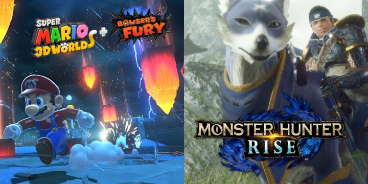 Newsbild zu Monster Hunter Rise und Super Mario 3D World + Bowser's Fury feiern neue Verkaufsmeilensteine in Deutschland