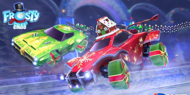 Newsbild zu Rocket League: Verdient kostenlose Items im Frosty Fest