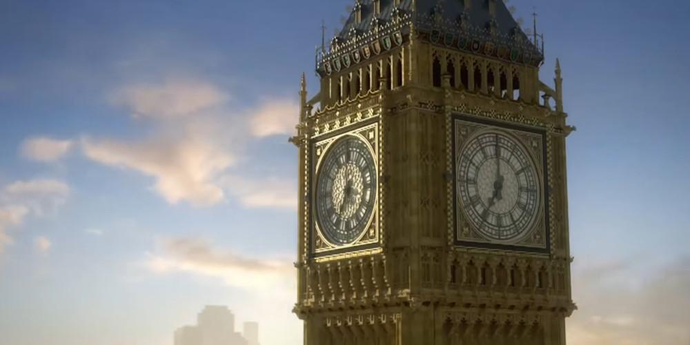 UK / Vereinigten Königreich / Großbritannien / England - Big Ben aus Mario & Sonic bei den Olympischen Spielen: London 2012