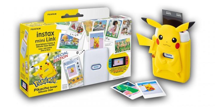 Newsbild zu Druckfrische Bilder von eurer Nintendo Switch – Fujifilm Instax Mini Link mit Pikachu Case kann ab sofort auch in Deutschland vorbestellt werden