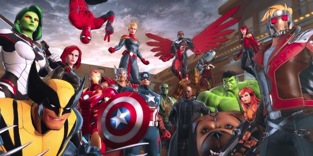 Newsbild zu Marvel Ultimate Alliance 3 wird um einige kostenlose Kostüme ergänzt