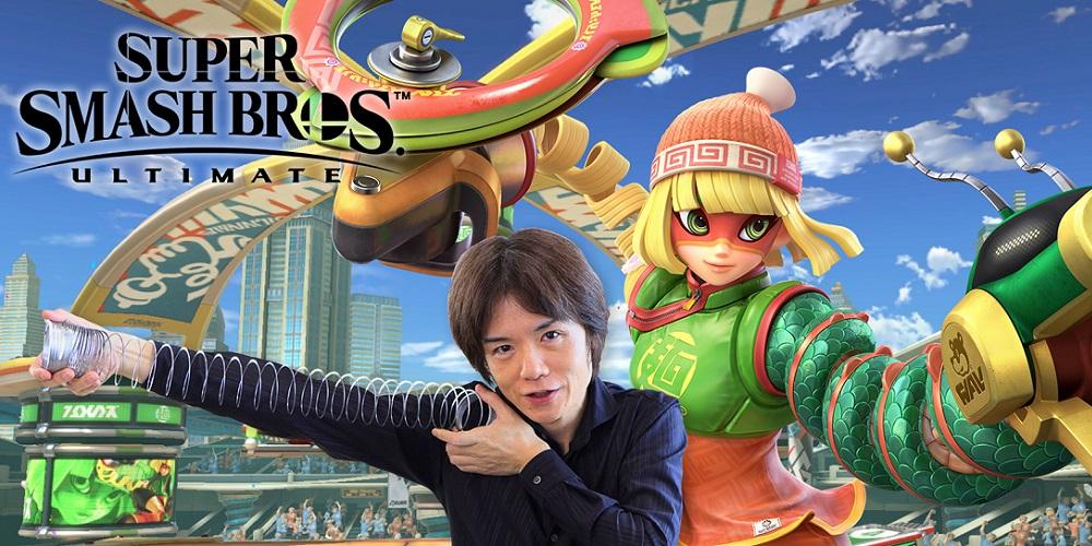 Masahiro Sakurai Min Min Super Smash Bros. Ultimate
