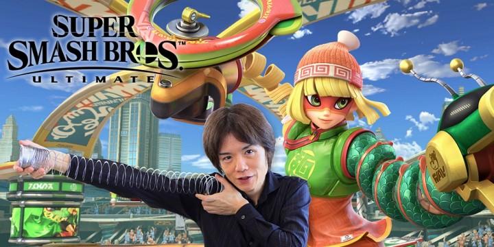 Newsbild zu Masahiro Sakurai spricht über Min Min und das baldige Ende des DLC-Zyklus in Super Smash Bros. Ultimate