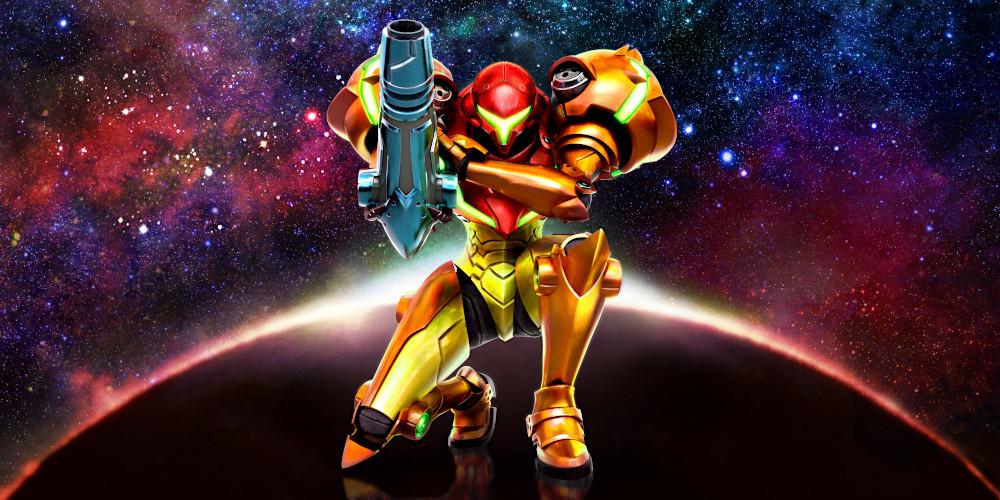 Metroid: Samus Returns - Keyart