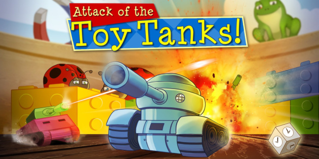 Newsbild zu Nintendo Switch-Spieletest: Attack of the Toy Tanks
