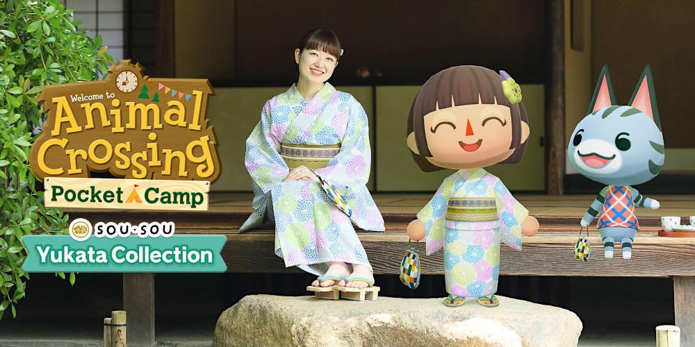 Animal Crossing: Pocket Camp - SOU・SOU Yukata Collection