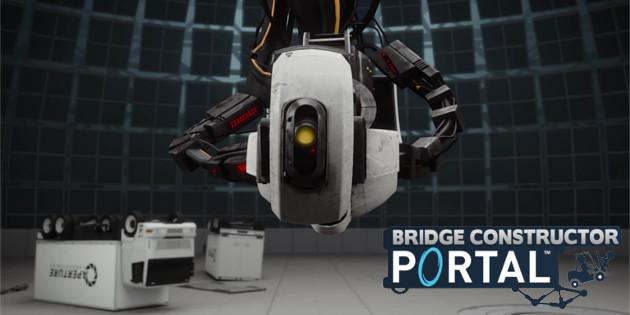 Bridge Constructor Portal: Neuer Gameplay-Trailer zeigt Szenen aus dem Spiel