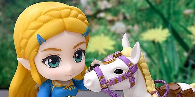 Newsbild zu Nendoroid-Figur zu Zelda aus Breath of the Wild präsentiert sich in zahlreichen neuen Bildern
