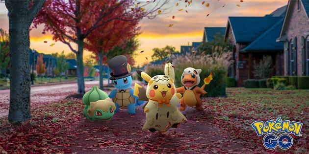 Newsbild zu Die Halloween-Saison-Events in Pokémon GO sind jetzt live