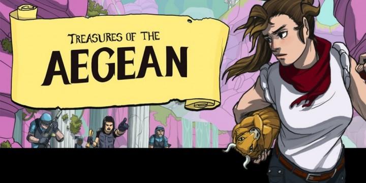 Newsbild zu Es geht auf Schatzsuche – Treasures of the Aegean erscheint am 11. November