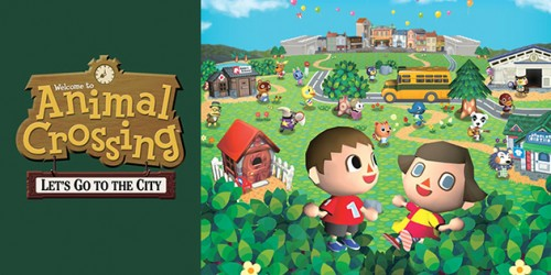 Newsbild zu Pixel-Power #9: Animal Crossing: Let's Go to the City (Wii)