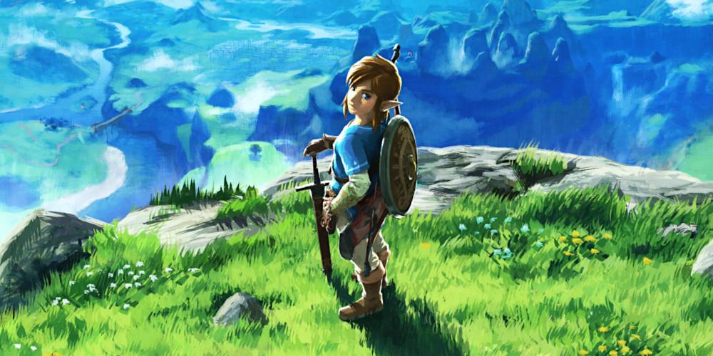 The Legend of Zelda: Breath of the Wild - Europäisches Coverart
