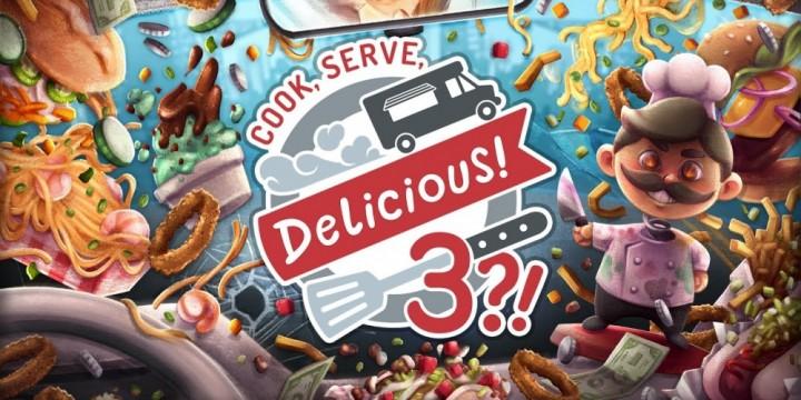 Newsbild zu Schwingt erneut die Kochlöffel – Cook, Serve, Delicious! 3?! erscheint im Oktober für die Nintendo Switch