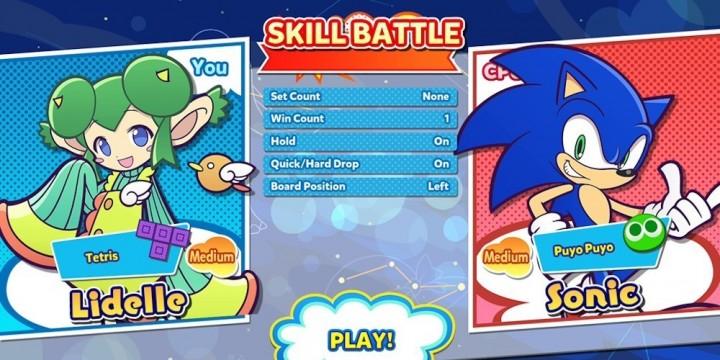 Newsbild zu Puyo Puyo Tetris 2: Sonic the Hedgehog ab sofort als spielbarer Charakter verfügbar