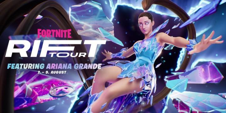 Newsbild zu Fortnite kündigt Rift Tour mit Popstar Ariana Grande an