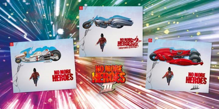 Newsbild zu My Nintendo: Schnappt euch das No More Heroes 3-Poster-Set für 400 Platinpunkte
