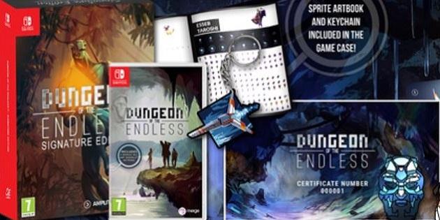 Newsbild zu Rogue-like Tower Defense-Spiel Dungeon of the Endless erscheint als Handelsversion für Nintendo Switch