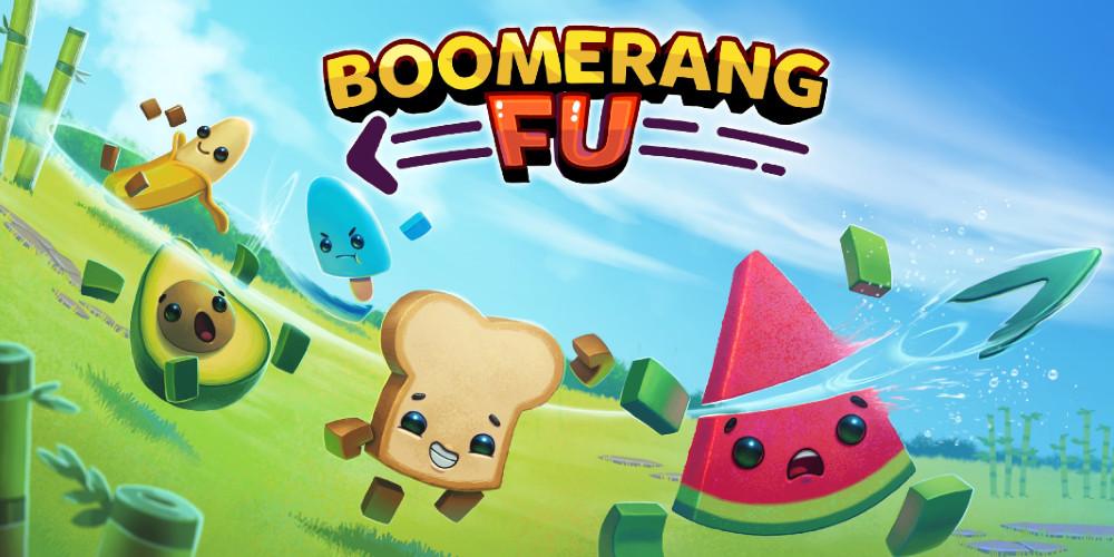 Boomerang Fu - Keyart