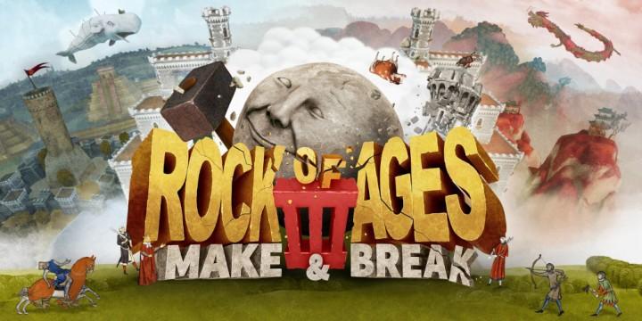 Newsbild zu Rock of Ages 3: Make & Break im Test – They see me rollin'