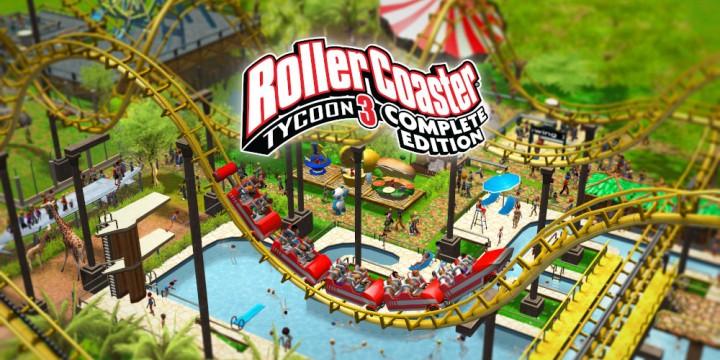 Newsbild zu RollerCoaster Tycoon 3 Complete Edition jetzt in unserem Live gezockt