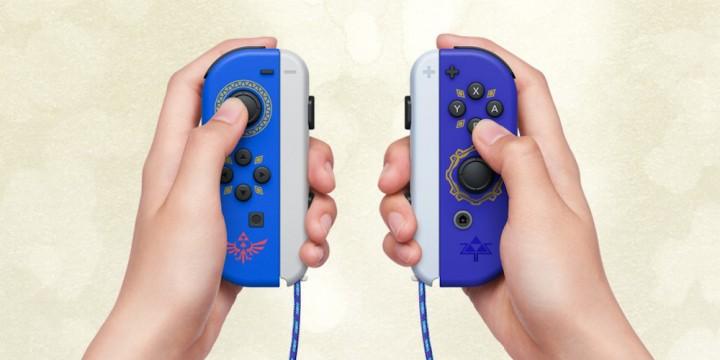 Newsbild zu Jetzt vorbestellen: Joy-Con im Stile von The Legend of Zelda: Skyward Sword HD