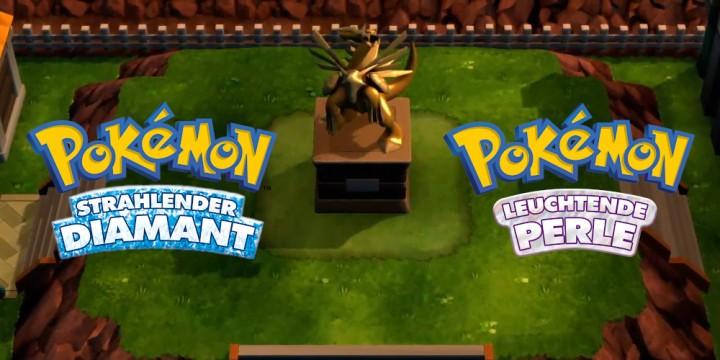 Newsbild zu Trailer zu Pokémon Strahlender Diamant und Leuchtende Perle deutet Inhalte aus Pokémon Platin an