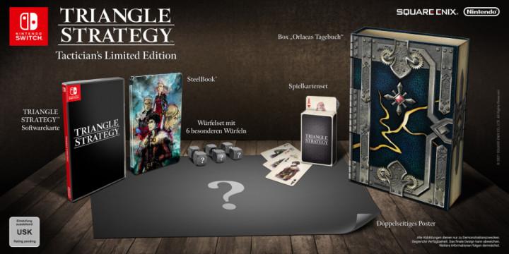 Newsbild zu Jetzt sichern: Triangle Strategy Tacticians's Limited Edition