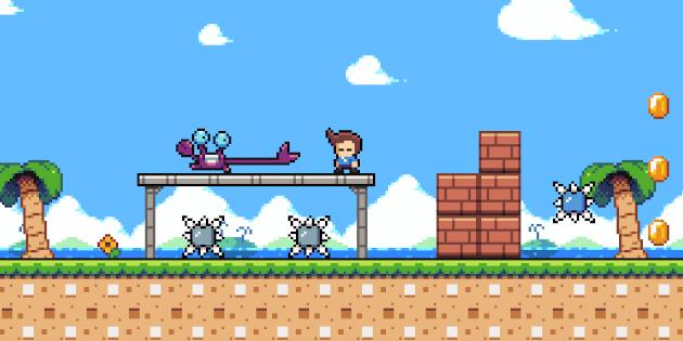 Newsbild zu Cross Game Studio kündigt den Plattformer Glitchfall für die Nintendo Switch an