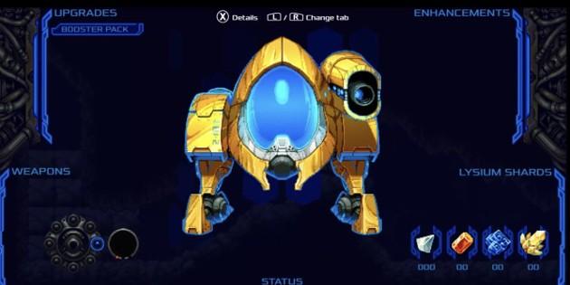 Newsbild zu Lysium: Stardiver – Von der Metroid-Reihe inspiriertes Spiel für die Nintendo Switch angekündigt