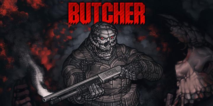 Newsbild zu Red Art Games veröffentlicht blutigen 2D-Shooter Butcher als physische Version für Nintendo Switch
