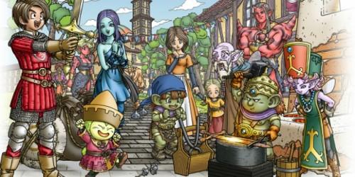 Newsbild zu Video zeigt die neuen Features von Dragon Quest X Version 2.3