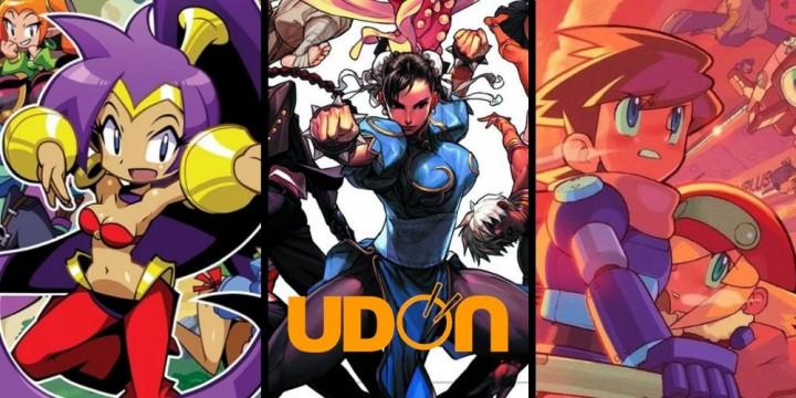 Newsbild zu Reichlich Lesestoff: UDON Entertainment kündigt Artbooks zu Mega Man, Shantae und Street Fighter an