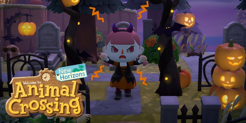 Animal Crossing: New Horizons - Herbst Update - Halloween