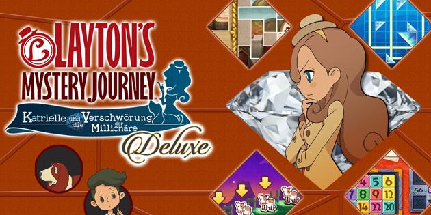 Newsbild zu Gewinnspiel: Finde und zähle alle Hinweismünzen und gewinne Layton's Mystery Journey: Katrielle und die Verschwörung der Millionäre – Deluxe