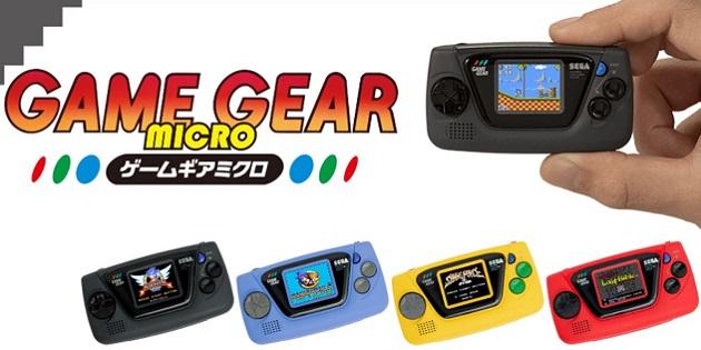 Newsbild zu SEGA feiert 60. Jubiläum: Winzige Handheld-Konsole Game Gear Micro enthüllt