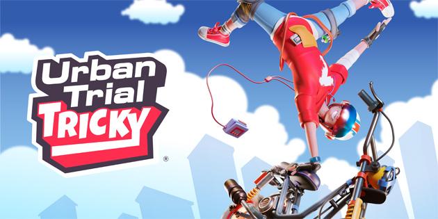 Newsbild zu Meistert ab Ende Juni die verrücktesten Motorrad-Stunts in Urban Trial Tricky auf der Nintendo Switch