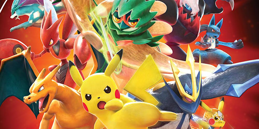 Pokémon Tekken DX - Keyart